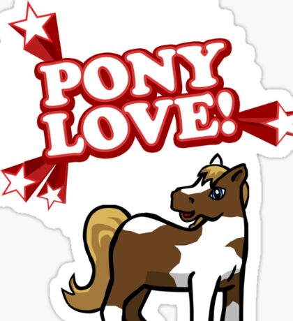 Pony Love Sticker