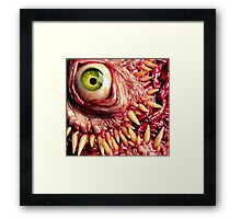 Green beast Framed Print
