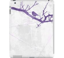 Silhouettes - Robin iPad Case/Skin