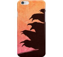 A Council Of Ravens iPhone Case/Skin