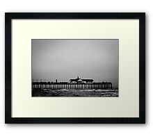 Dark Sea #05 Framed Print