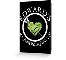 Ed's Landscaping Greeting Card
