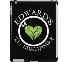 Ed's Landscaping iPad Case/Skin
