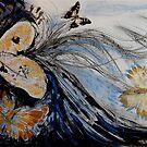 butterfly heart by evon ski