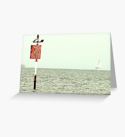 Moreton Bay Greeting Card