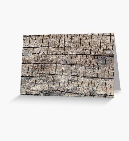 Weathered Wood Greeting Card