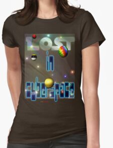 Lost In Cyberspace Womens Fitted T-Shirt