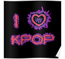 I LOVE KPOP SPIKE - PINK Poster
