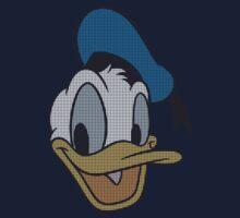 Donald Duck dot pattern Kids Tee