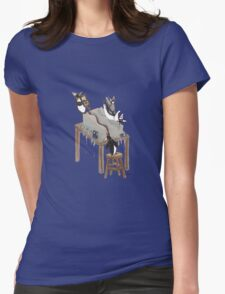Party Animals Series: The Penguins Womens Fitted T-Shirt