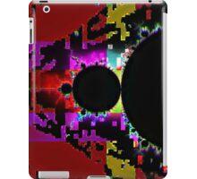 Glitch Fractal Ten iPad Case/Skin