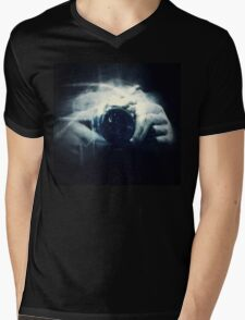 Hands and Light in Photography Mens V-Neck T-Shirt