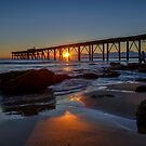 Catherine Hill Bay Jetty  by Chris  Randall