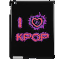 I LOVE KPOP SPIKE - PINK iPad Case/Skin