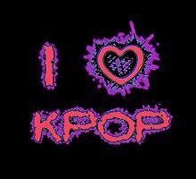 I LOVE KPOP SPIKE - PINK by Kpop Love
