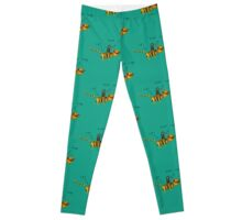 Easter Bunny / Liger - Friends Forever Leggings