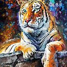 Siberian Tiger — Buy Now Link - www.etsy.com/listing/174182213 by Leonid  Afremov