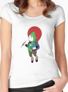 Tingle - Hylian Court Legend of Zelda Women's Fitted Scoop T-Shirt
