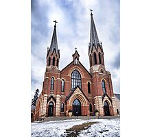 St. Mary's Church Study 1  Photographic Print