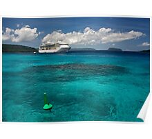 Radiance of the Seas, Champagne Bay Poster