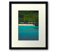 Champagne Bay Framed Print