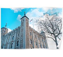 White Tower at Tower of London Poster