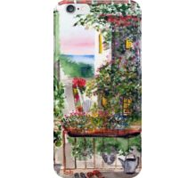 Our little corner of San Clemente ( Look carefully you will spot the eave and the roof) iPhone Case/Skin