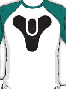 Destiny Logo - Galaxy (Black) T-Shirt