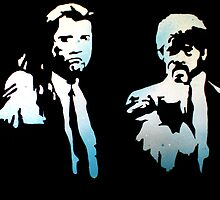 Pulp Fiction by Laura Fowler