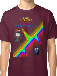 The Future Is So Yesterday - Doctor Who Classic T-Shirt