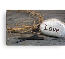 Amazing Love Canvas Print