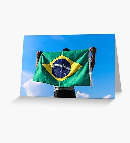 Brazilian Fan Greeting Card