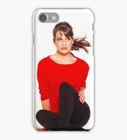 Lea Michele  iPhone Case/Skin