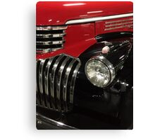 Classic 1946 Chevrolet Pickup Truck profile Canvas Print