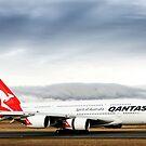 Qantas A380 by Peter Redmond