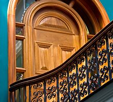 Door to ? by Marylou Badeaux