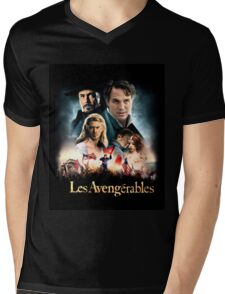 Les Avengerables Mens V-Neck T-Shirt