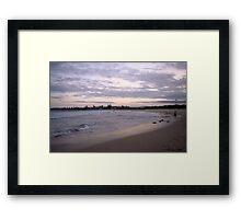 Landscapes: Barrack Point IV Headlands Framed Print