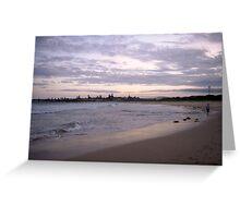 Landscapes: Barrack Point IV Headlands Greeting Card