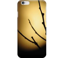 Eclipsed  Silhouette iPhone Case/Skin