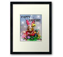 Rhinos Excellent Easter!! Framed Print