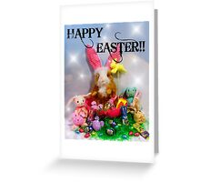 Rhinos Excellent Easter!! Greeting Card