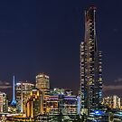 Melbourne Skyline by Neville Jones