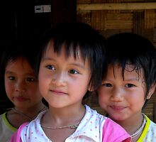 children of Laos by robertagiovedi