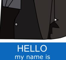 What's in a name? Sticker