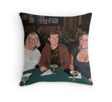 Gala Guests Throw Pillow