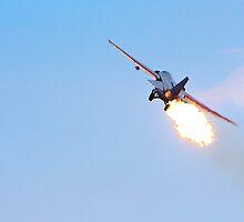 Australian Airshow 2009 - F111  - Burn by Paul Golz