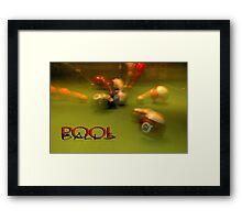 Pool Balls © Vicki Ferrari Framed Print