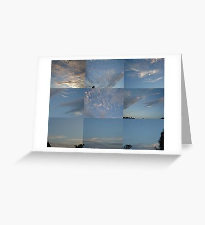 Sky Quilt Greeting Card