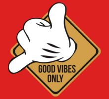 Good Vibes - Hang Loose Fingers Kids Clothes
